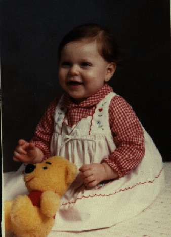 This is me as a baby!